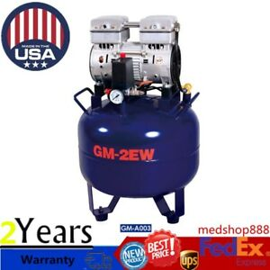Portable Dental Medical Air Compressor Silent Quiet Noiseless Oilless Compressor