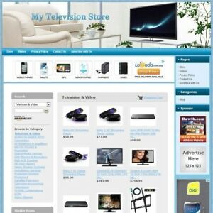 Television Hdtv Store Make With This Online Affiliate Website Business