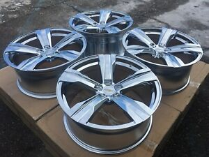 20 Chevy Camaro Ss Zl1 Chevrolet Chrome Wheels Rims New Set Of 4 2010 2018