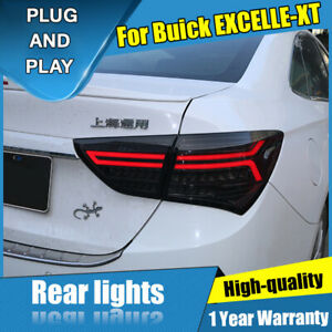 For Buick Excelle Xt Dark Red Led Rear Lights Assembly Led Tail Lamps 15 17