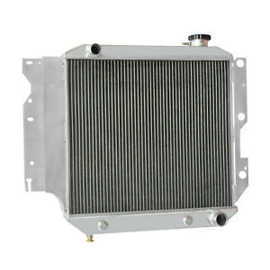 3row Radiator For 1987 1999 Jeep Wrangler Tj Yj Small Block Chevy V8 Conversion