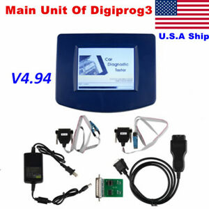 Us Ship Notax Main Unit Of V4 94 Digiprog3 Progarmmer With Obd2 St01 St04 Cable