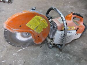 Stihl Ts400 Concrete Cut off Saw 14