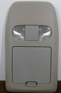 04 08 Ford F 150 Overhead Console With Map Lights And Storage Light Flint
