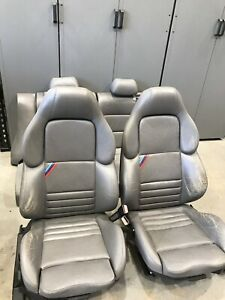 Bmw E36 M3 Vader Seats Rare Mulberry Full Front And Rear Seats