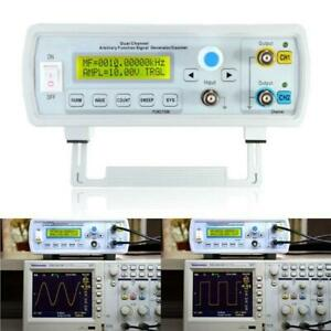 Dual channel Arbitrary Waveform Dds Function Signal Generator Sine Square Wave S