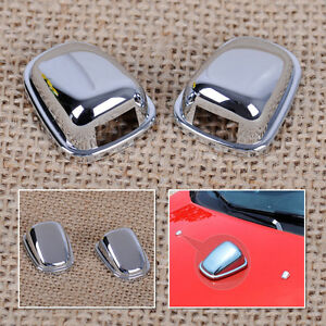 2x Windscreen Washer Wiper Spray Nozzle Cover Sticker Fit For Ford Ecosport