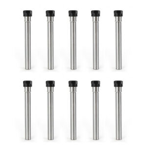 Us 10pcs Er16 Collet Chucks Holder Cnc Milling Extension Rod Straight Shank New
