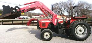 Mf 492 Tractor With Qt Loader Bucket 99 Hp Shipping Available At 1 85 mile