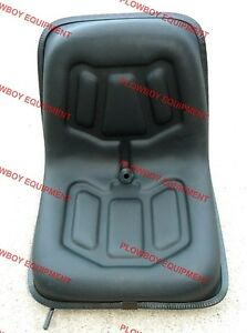 Lawn Garden Seat W Slide Tracks lgs100bl Metal Seat Pan For Bobcat Skid Loader