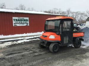 2007 Kubota Rtv900 Utility Vehicle W Hydraulic Dump Bed