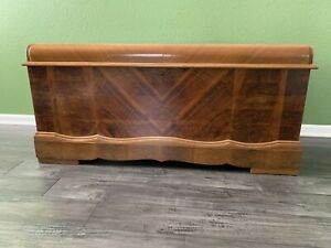 Vintage Caswell Runyan Cedar Hope Chest With Labels Made In The 40s Great Shape