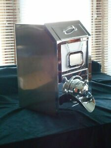 3 Available No Scratches Chrome Commercial Coffee Bean grain candy Dispenser