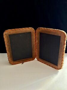 Antique Double School Slate 7 X 9 Inches