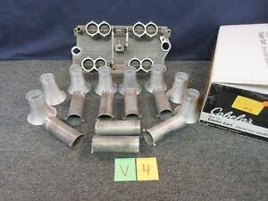 Hilborn 5353 Sbc 327 350 Fuel Injection Engine Intake Manifold 265 C 8e Stacks