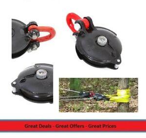 Universal Self Recovery Winch Snatch Block Rated For 36 000 Lbs Capacity