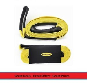 Universal 2 Inch 20 Foot Long Recovery Tow Strap