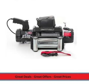 Xrc 9500 Lbs Waterproof Winch With 93 Ft Of Cable Wire
