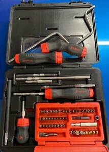 Snap On Ratcheting Screwdriver Set With Lots Of Accessories