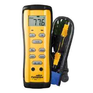 Fieldpiece St4 Dual Temperature Digital Thermometer Hvacr