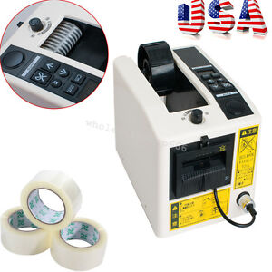 110v 18w Automatic Tape Dispenser Cutter Adhesive Feeder Cutting Packing Machine