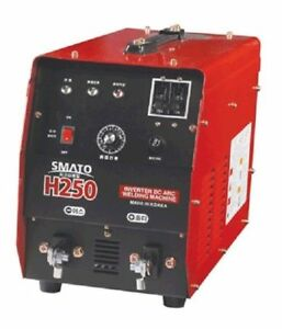 Smato H250 D c Inverter Arc Welding Machine 8 4kva High Quality Igbt Used I_c