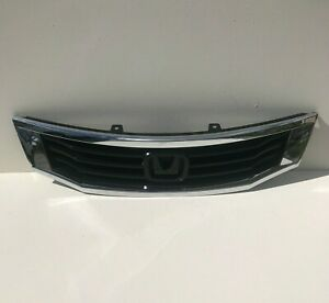 2008 2009 2010 Honda Accord Sedan Front Upper Chrome Grille Aftermarket