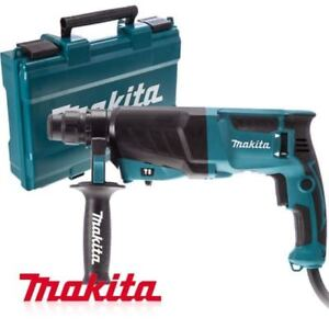 Makita Corded Electric Combination Hammer Drill Hr2630 800w 1 200 Rpm_ig