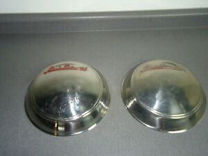 Factory Oem 1942 1948 Lincoln Continental Wheel Rim Hub Cap Hubcap Lot Of 2