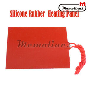 12v 12w Or 25w Silicone Rubber Heating Panel Constant Temperature Heater Plate