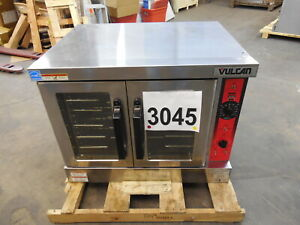 3045 Lightly Used Vulcan Full Size Gentle Convection Oven W legs Model vg4 nat