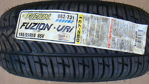 1 Brand New 195 55 15 Fuzion Vri 85v Rated Tire 195 55r15 082 731 No Wheel Rim