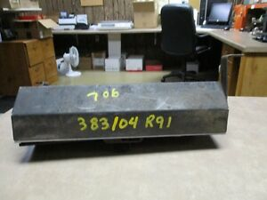 Case 706 Tractor Tool Box 706 And Others Part 383104r91