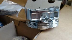 Je Pistons Ford Big Block Stroker Tfs Bbf A460 100 Dome 4 599 Bore Trick Flow