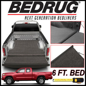 Bedrug Xlt Carpet Truck Bed Mat Liner Fits 2005 2019 Toyota Tacoma W 6 Ft Bed
