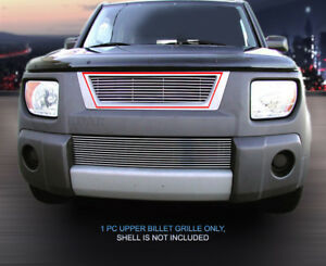 For 2003 2006 Honda Element Bolt on Billet Grille Upper Grill Insert Fedar