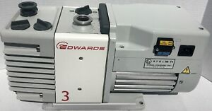 Edwards Rv3 Dual Stage Rotary Vane Mechanical Vacuum Pump 2 6 Cfm Refurbished