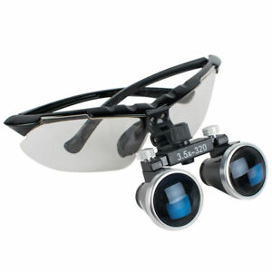 Denshine Upgraded Dentist Dental 3 5x320mm Surgical Medical Binocular Loupes Us