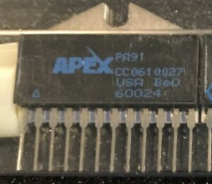 Apex Pa91 Operational Power Amplifier New