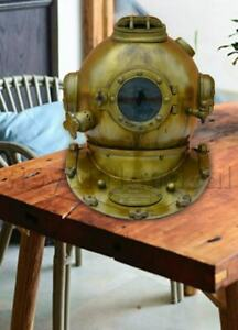 Mark V Diving Divers Helmet Reproduction Antique Handmade U S Navy Collectible