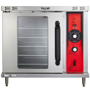 Vulcan Eco2d 208 1 Single Deck Half Size Electric Convection Oven With Solid Sta