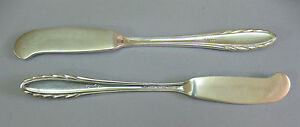 Estate Gorham Sterling Silver Lyric Flat Butter Knife Lot Not Scrap 55 6 G