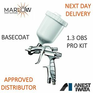 Iwata Ws400 1 3obs Basecoat Evo Super Nova Spray Gun Free Next Day Delivery