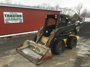 2005 New Holland Ls185 b Skid Steer Loader W 2 Speed Weight Kit