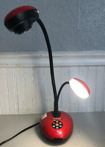 Dukane 335 Visual Presenter Document Camera Red And Black Works Great