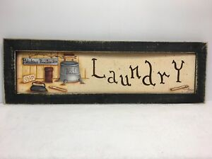Laundry Room Print Country Primitive Home Decor Picture