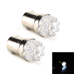 2 Pcs White 9 Led 1157 Replacement Car Stop Tail Bulb Lamp Useful Bwhwc