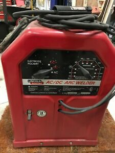 Lincoln Electric Ac 225 Ac Arc Stick Welder 230 Volt 40 225 Outpt k1170
