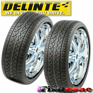 2 Delinte Desert Storm D8 285 35zr22 110w All Season Performance Suv Tires