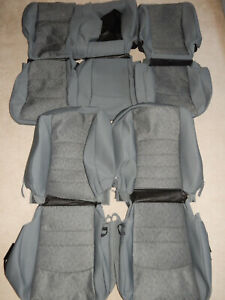 2013 2017 Dodge Ram Crew Cab 1500 2500 3500 Oem Cloth Seat Covers